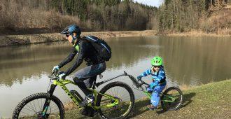(E-) Bike Touren mit Kleinkind – so wird es zu einem unvergesslichen Erlebnis!
