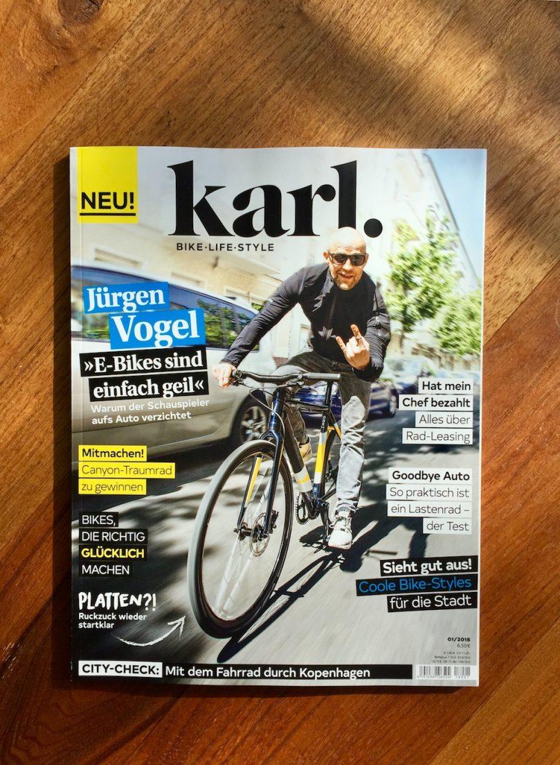 Karl, ein neues Lifestyle Magazin, das den Schwerpunkt auf Radfahren legt!