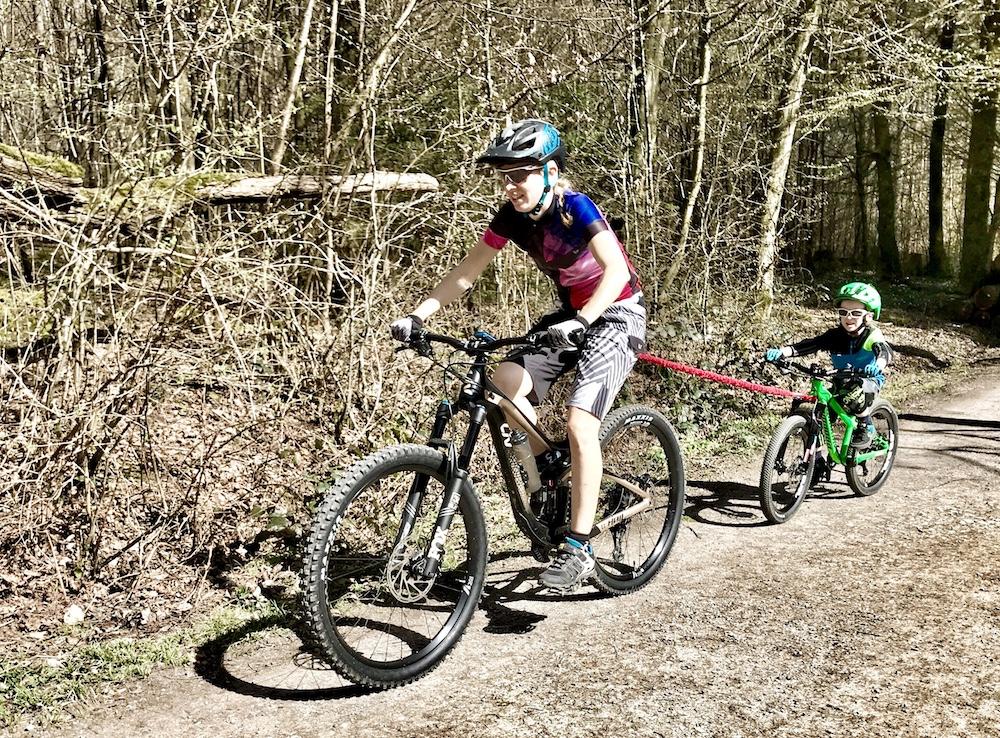 Abschleppseil für Mountainbiker, Towwhee