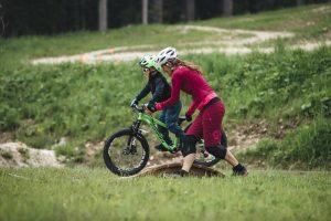 Fahrtechniktraining für Kids, Trailexperience, beim Rosadira Bikefestival