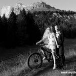 Mountainbike Hochzeit