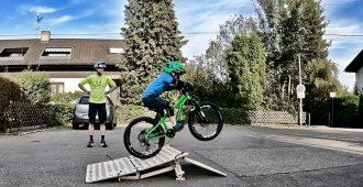 MTB Hopper. Mobile Schanze für Mountainbiker, E-Mountainbiker, Bike Familien und Bikekids – Testbericht