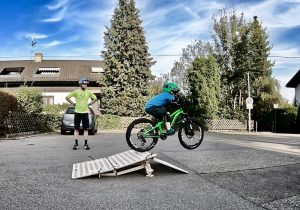 MTB Hopper, mobile Schanze für Mountainbiker