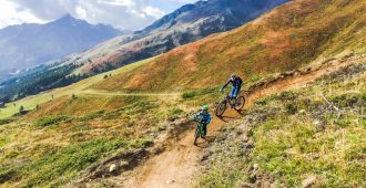 """Bombastische Mountainbike Trails auch für Kinder – wie uns die """"Bike Republik Sölden"""" als wahres Trailparadies begeistert hat!"""