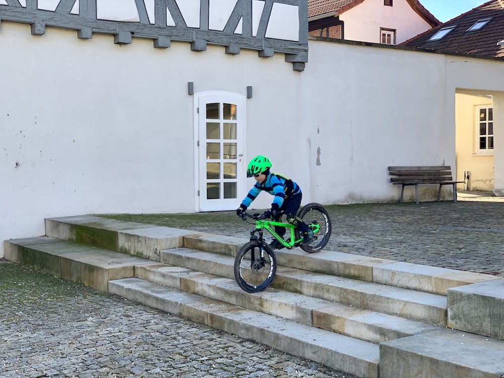 Treppen Bike
