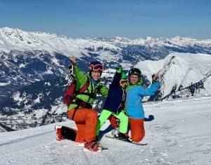 Lenzerheide Skifahren mit Kind