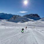 Skifahren Kind Sankt Moritz