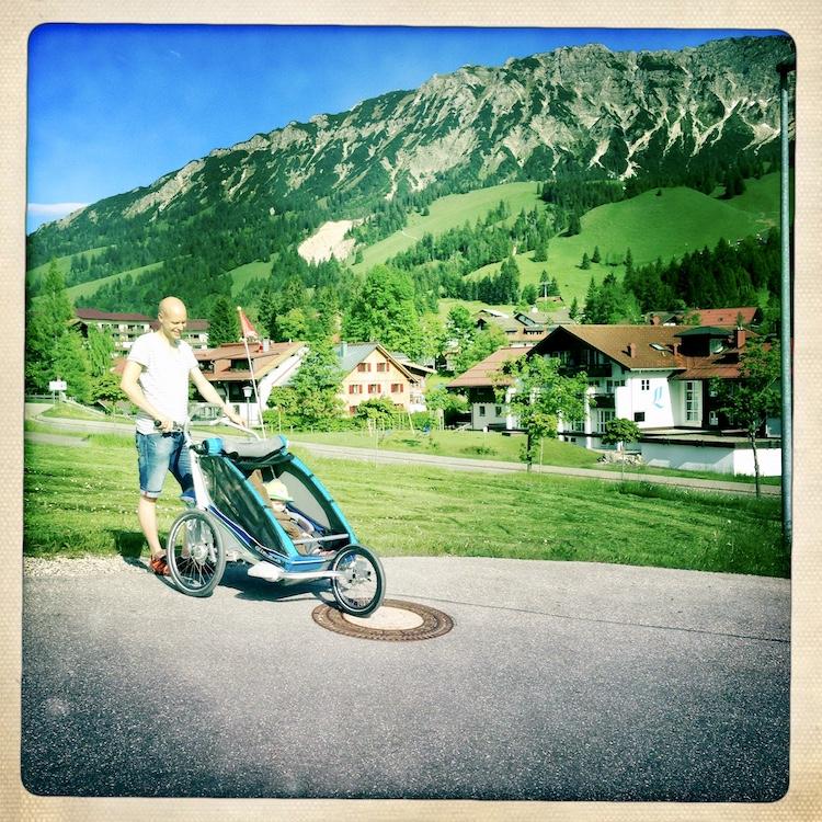 Radanhänger Chariot Jogging set