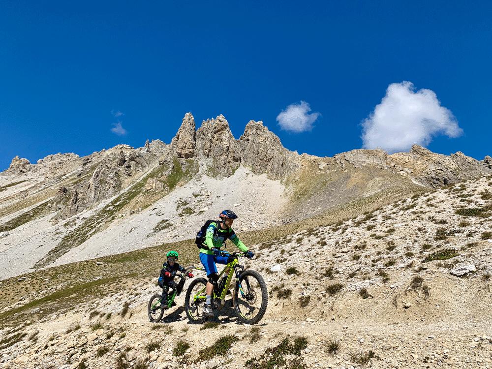 eMTB Nachläufer Berge