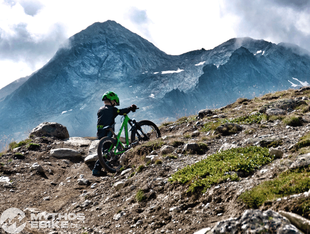 Scheiben Bike Kind Berninapass