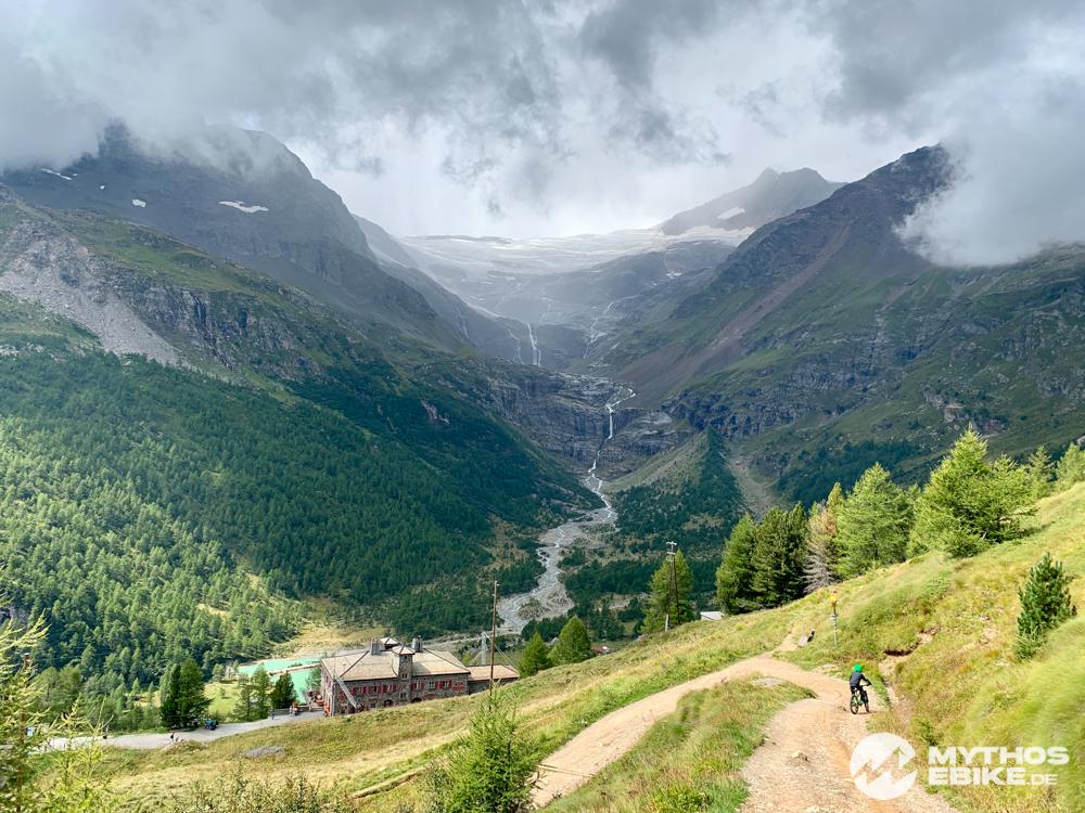 Alp Gruem MTB und Palügletscher