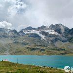 Lago Bianco und Cambrena Gletscher