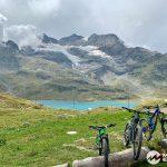 Lago Bianco MTB und Cambrena Gletscher