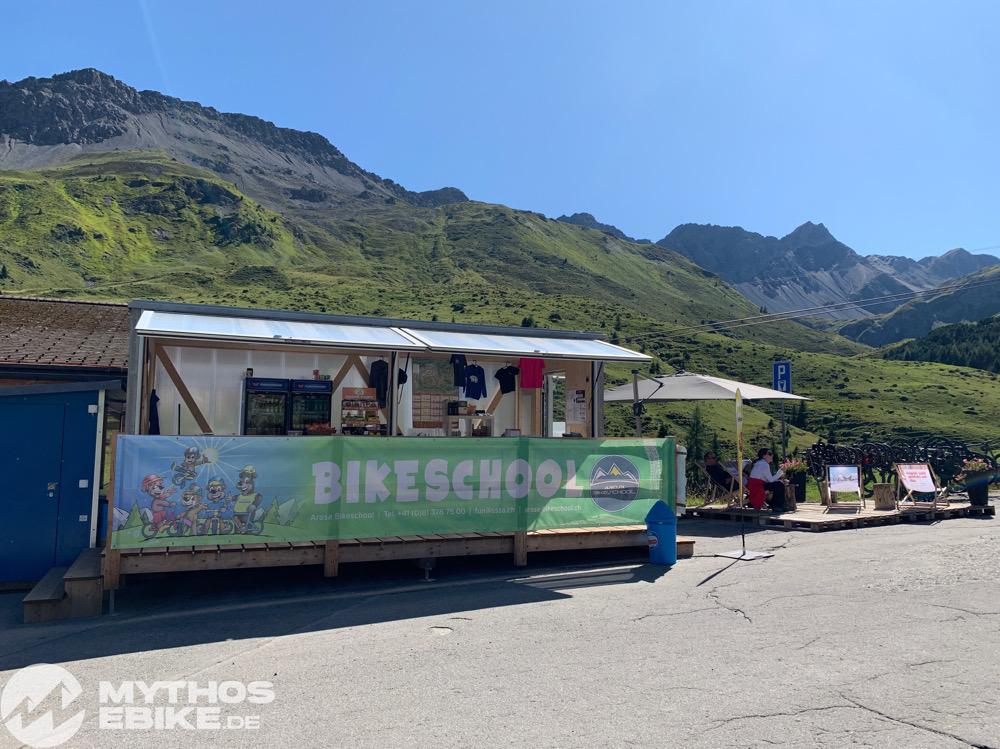 Bikeschool Arosa Baerenbande Kiosk