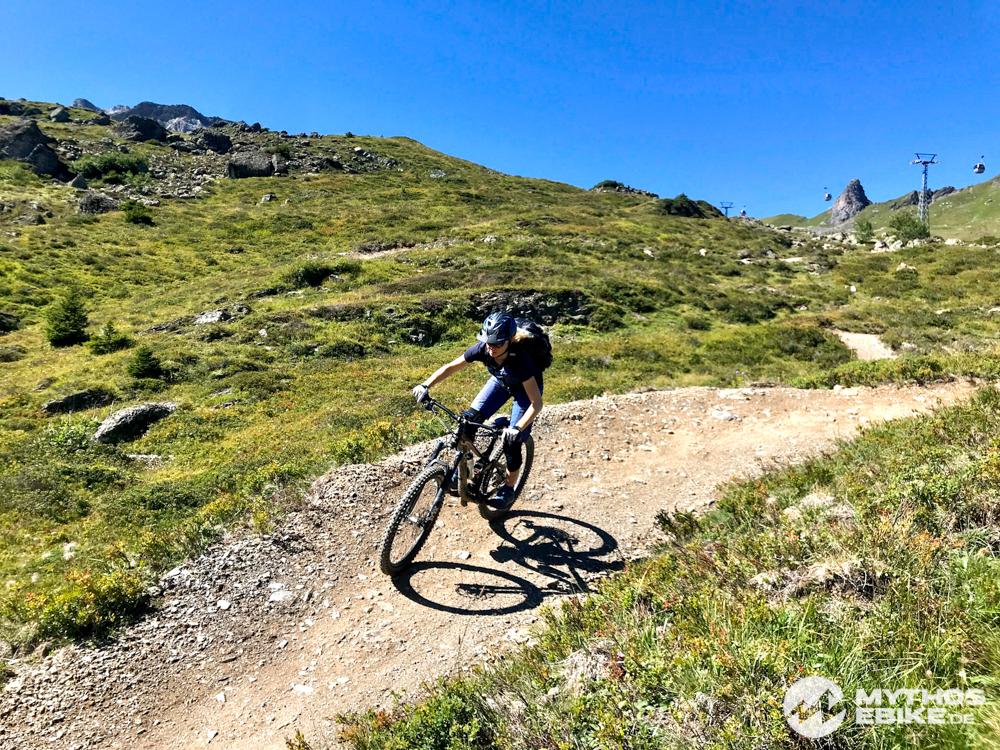 MTB Hoernli Trail, Arosa