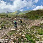 MTB Kind Hoernli Trail Arosa