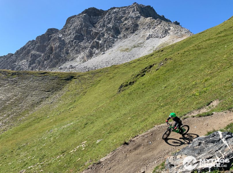 arosa Mtb kind Hörnli trail