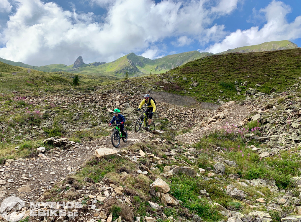MTB Kind Hoernli Trail Arosa