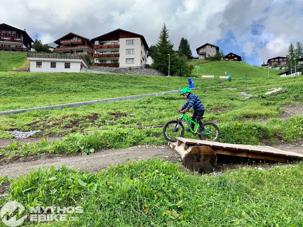 Holzsprung MTB Skill Center Arosa