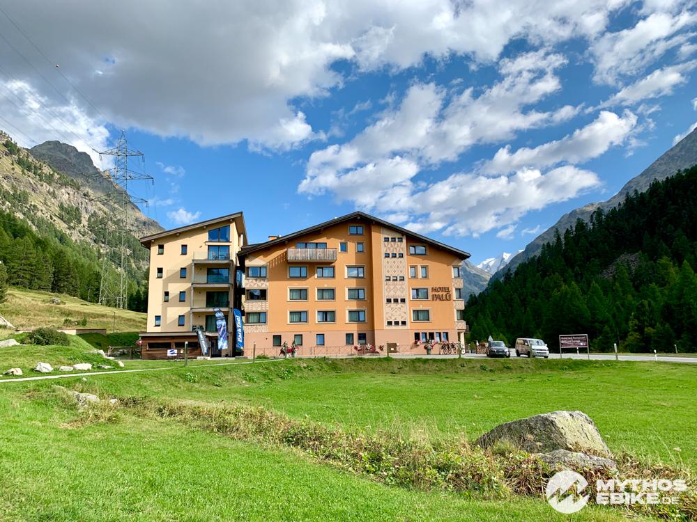 Hotel Palü Ansicht