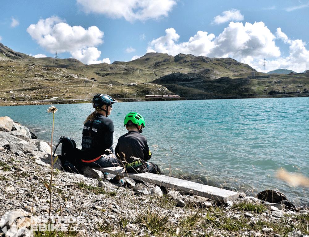 Lago Bianco Pause