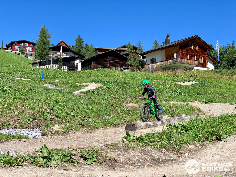 MTB Skill Center Arosa Balken