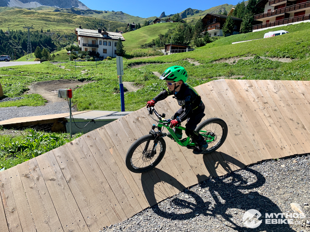 MTB Skill Center Arosa Wallride