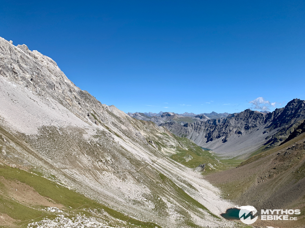 MTB Tour Arosa, Aelplisee Trail