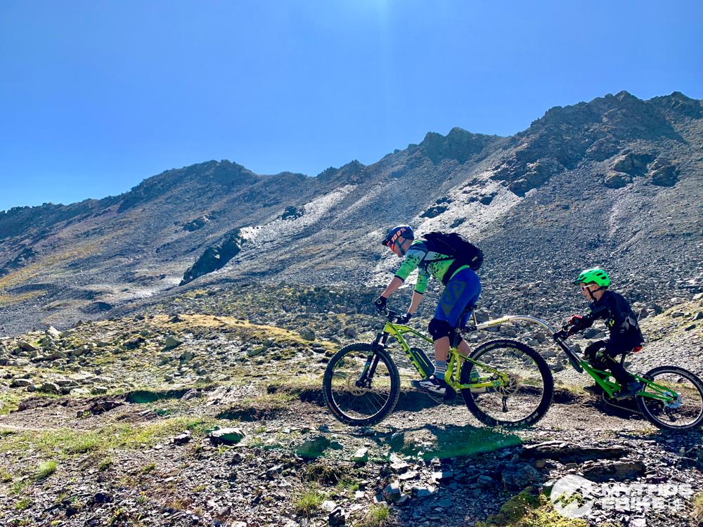 MTB Tour Las Trais Fluors eMTB Nachläufer