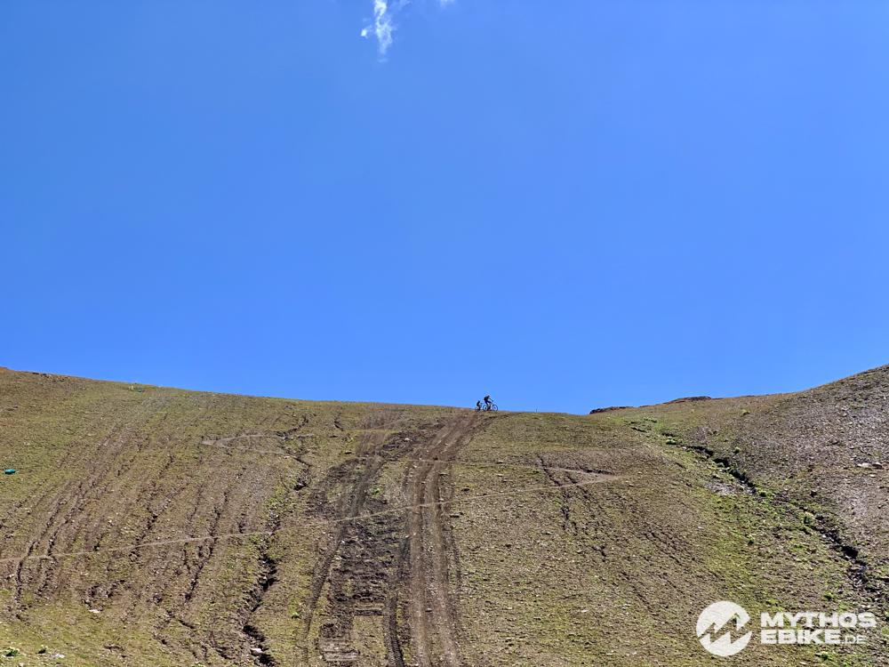 MTB Tour Las Trais Fluors - Himmel