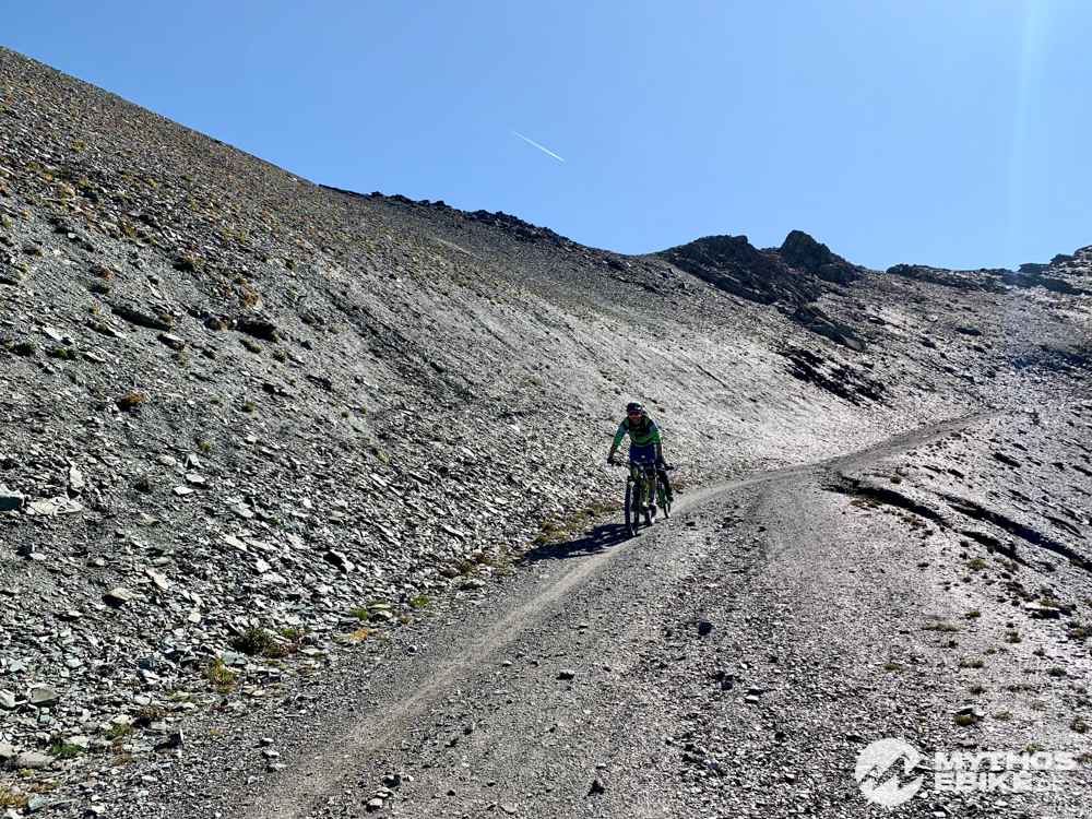 Mountainbike Abfahrt Piz Nair