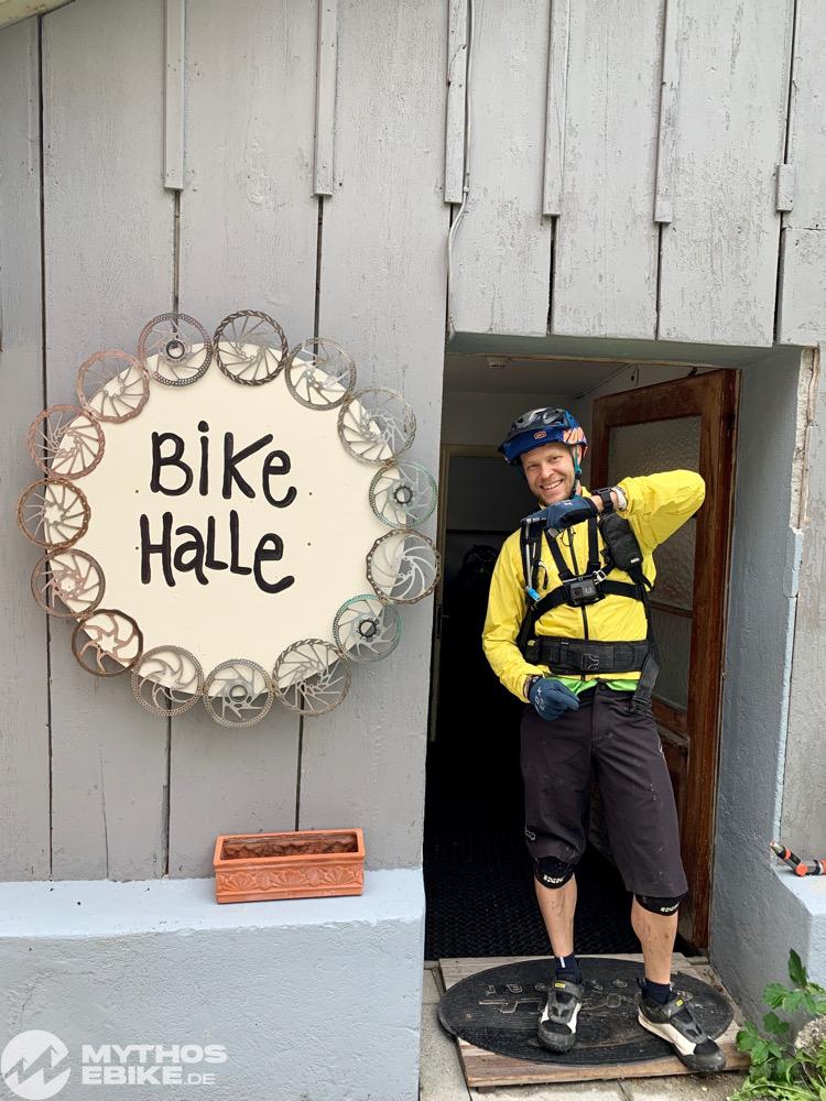 Bike Halle Hotel Seehof Arosa