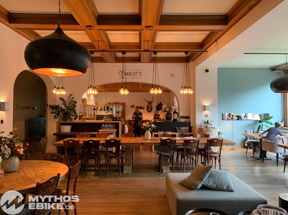Restaurant Charlotte im Hotel Seehof Arosa