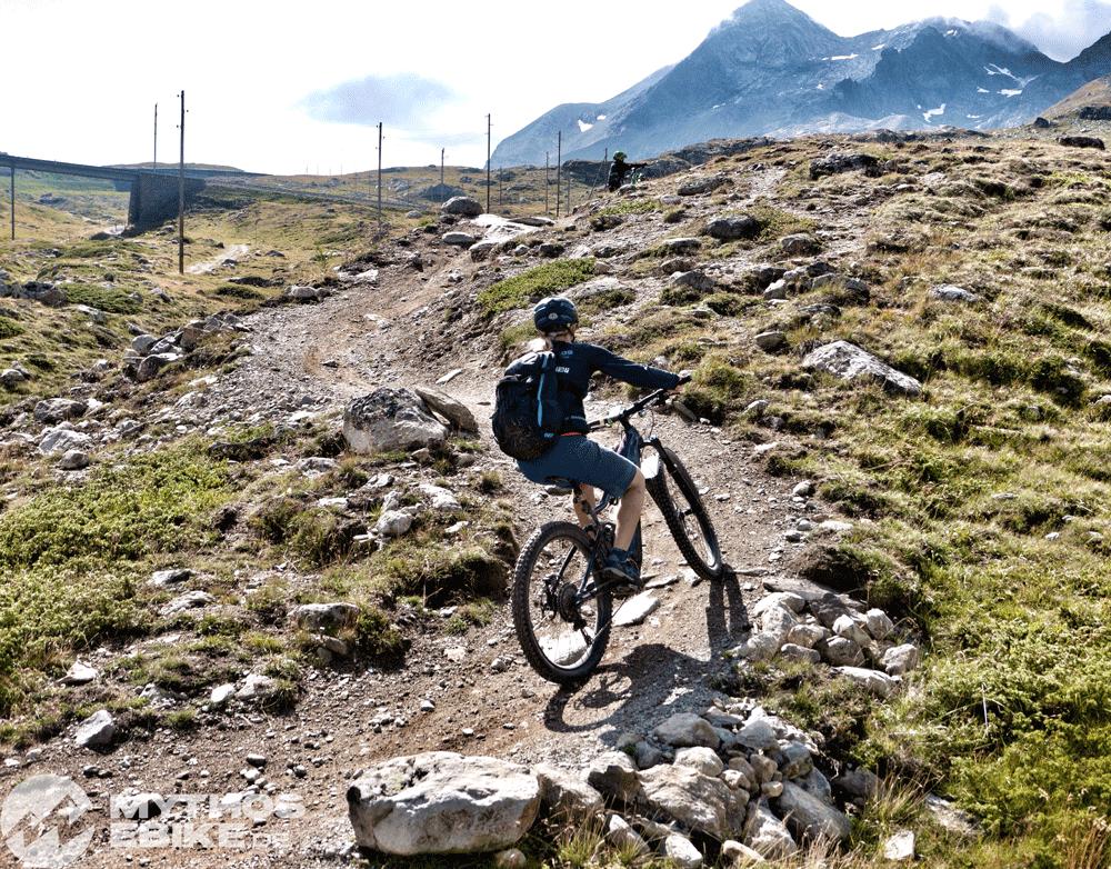 Uphill eMTB Berninapass