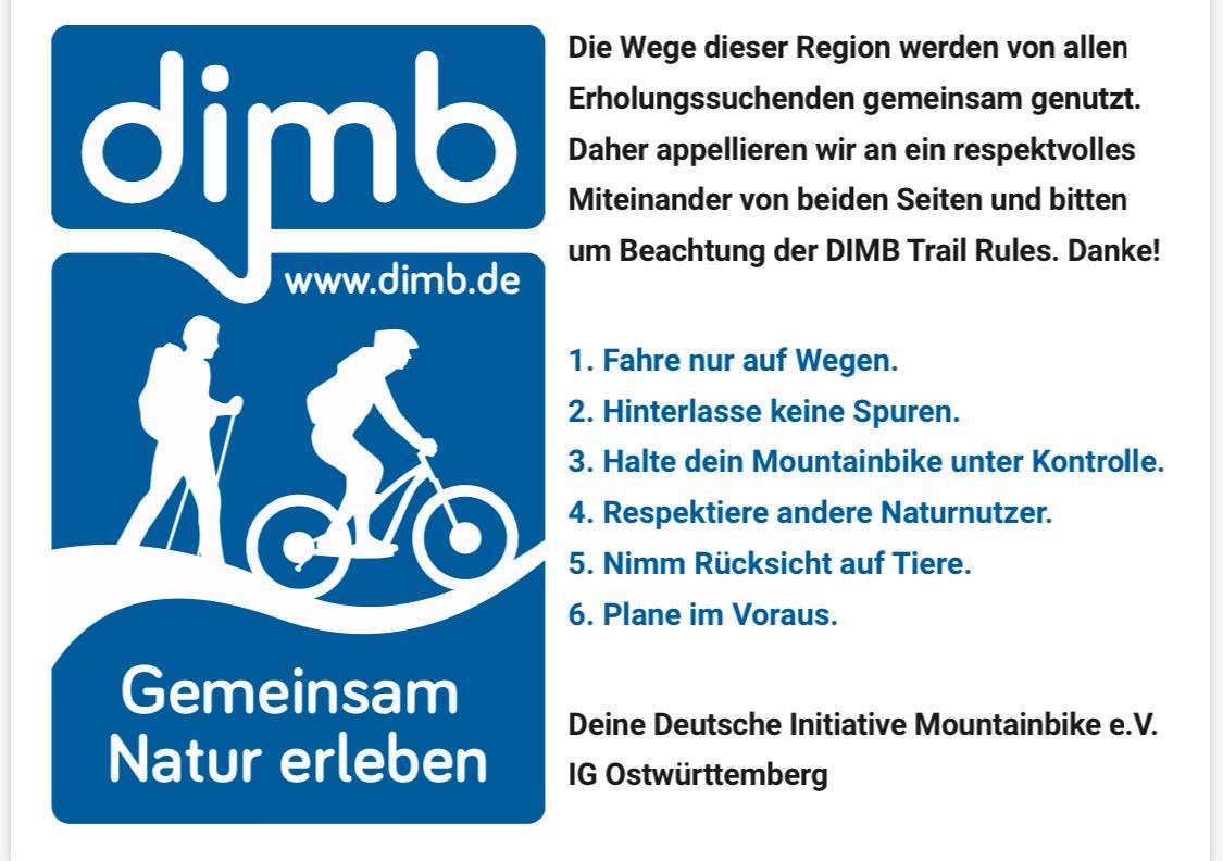 DIMB Regeln Trailrules