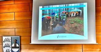 Verhaltensregeln, Rücksichtnahme und Toleranz sollen im Wald des Rems-Murr-Kreises für ein gutes Miteinander von Wanderer und (E) Mountainbiker sorgen