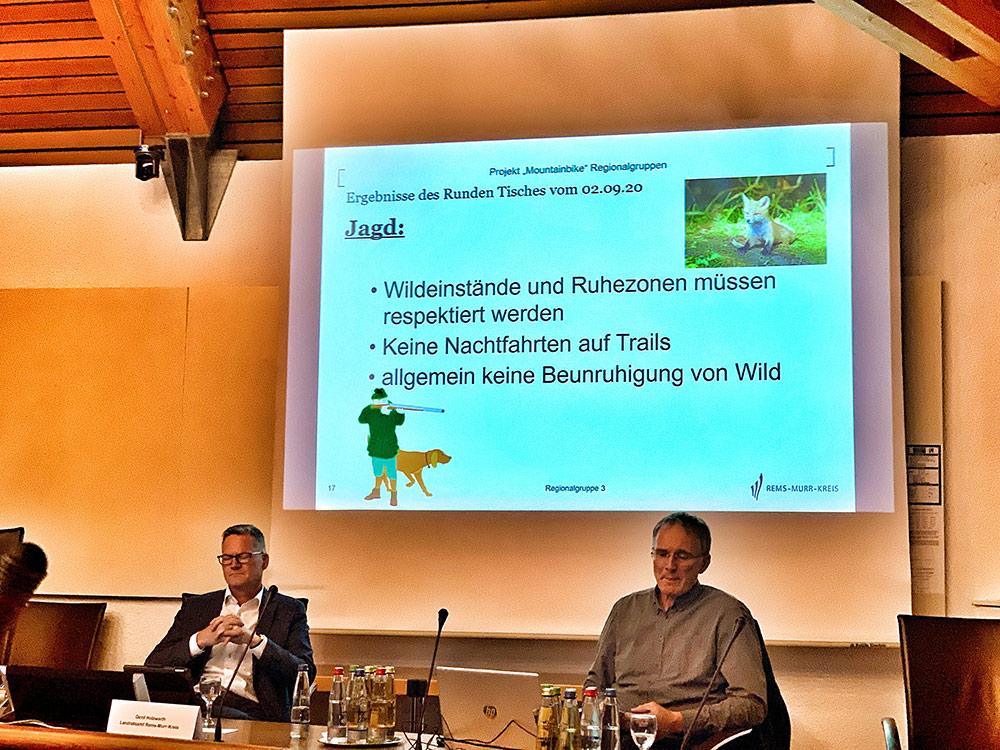 Regionalgruppe3 MTB 07.10.2020 Rems Murr Kreis Jagd