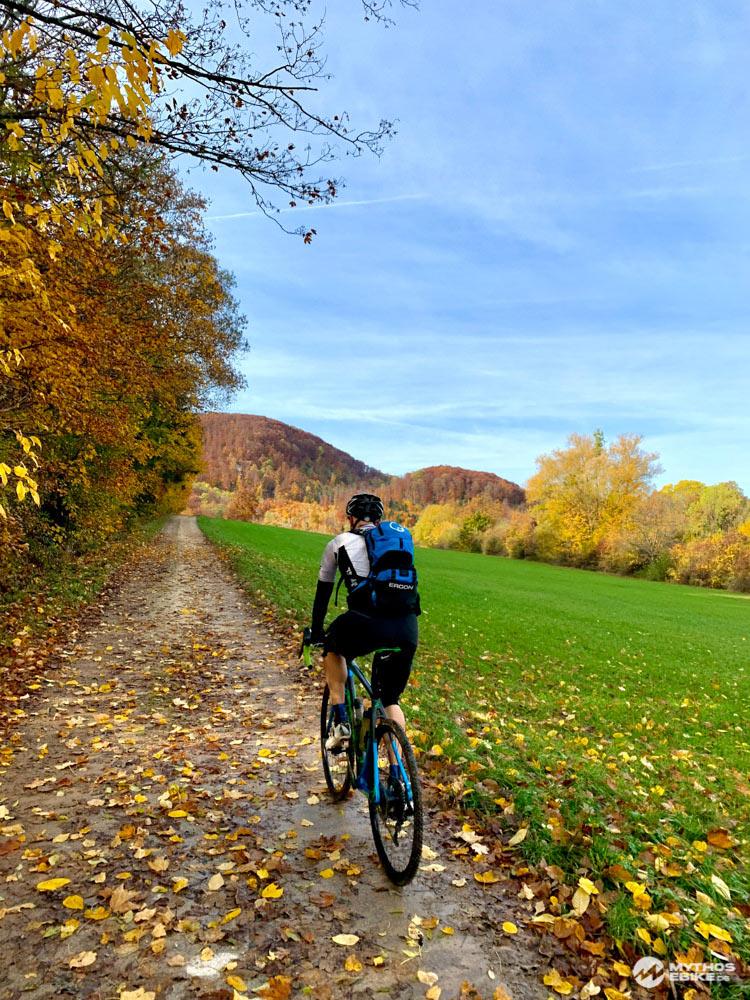 Alb-Crossing Schwäbische Alp Herbstwald Crosser