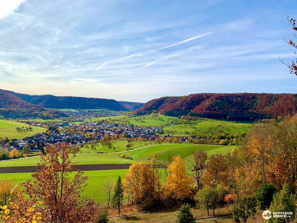 Alb-Crossing Naturschutzgebiet Haarberg-Wasserberg Ausblick