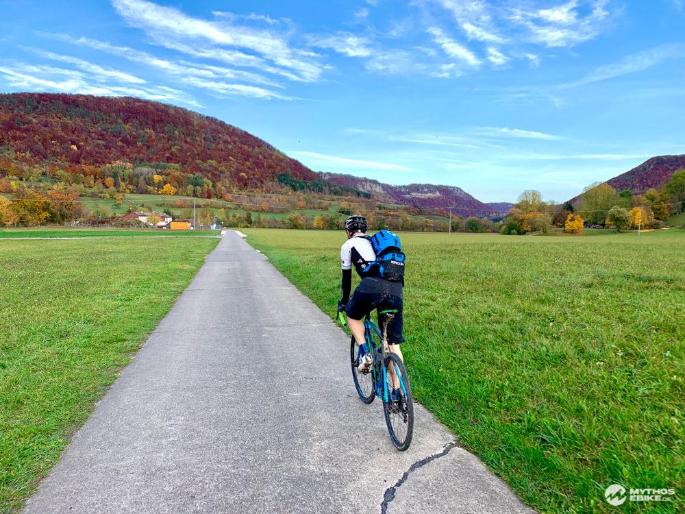 Alb-Crossing Aussicht Freundlicher Radweg