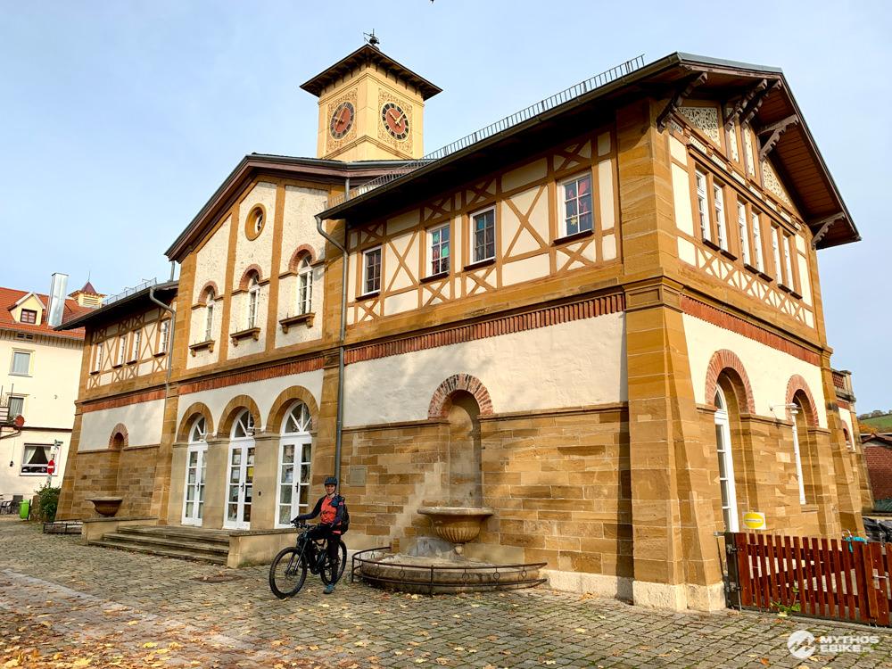 Bad-und Waschhaus Kuchen Historische Arbeitersiedlung Alb-Crossing eBike