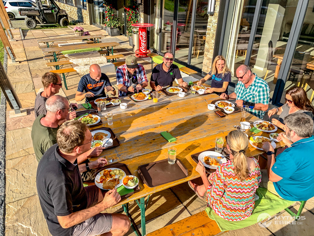 Abendessen Buchegg Resort