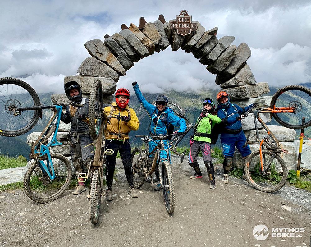 Mountainbiker Sölden
