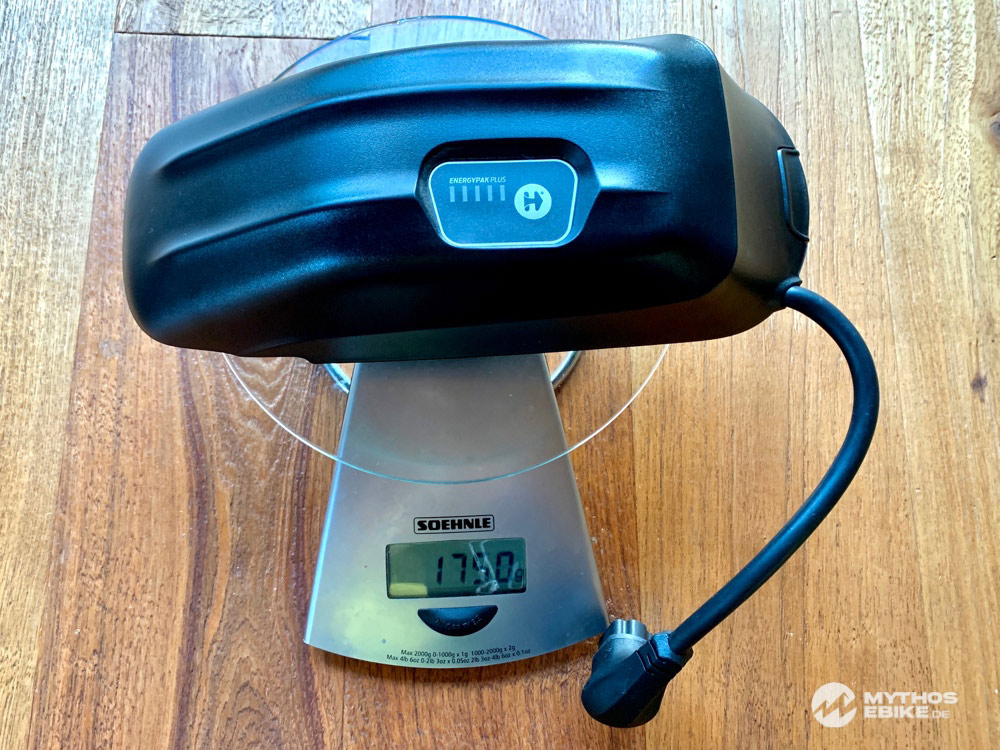 Energy Pak Plus Range Extender Gewicht
