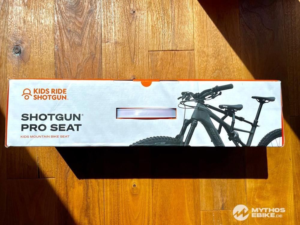 Kidsride Shotgun Pro Seat Verpackung